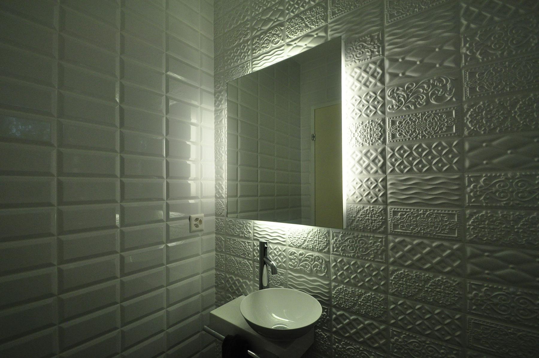 Badezimmer mit swarovski elements willkommen bei schiffbauer bad und wohnraumgestaltung mit - Swarovski fliesen ...